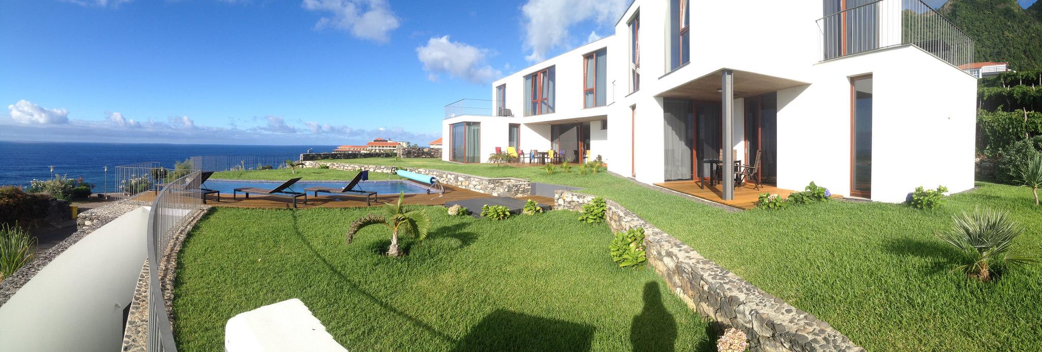 Casa do miradouro traumhafter ferienwohnung auf madeira for Haus auf madeira
